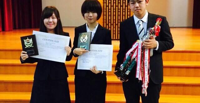 The 3 winners