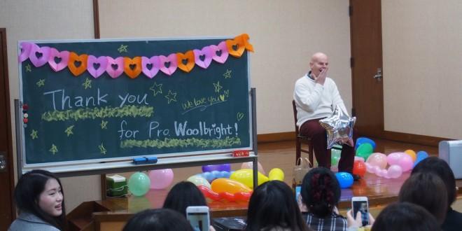 Farewell Mr. Woolbright